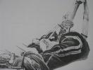 Attache 1, detail (Mhmmmmm, 2005). Crayon sur papier / Pencil on paper