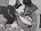 Soin 2, detail (I Heart Lygia Clark, 2010). Encre et gouache / Ink and gouache