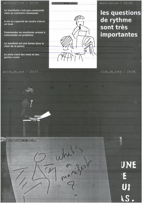Manifestes imprimés - 6/9  - verso