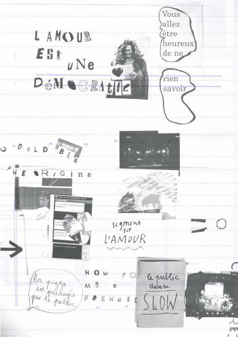 Manifestes imprimés - 1/9  - verso