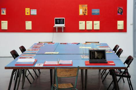 "Research Room ""Action! Painting! Publishing!"", 6-27 juillet 2012, 2/9"