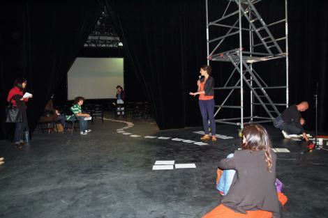 Avec Lucie Delzenne et Olivier Nourisson - 10 mai 2011 - 4/6 ©Virginie Bobin