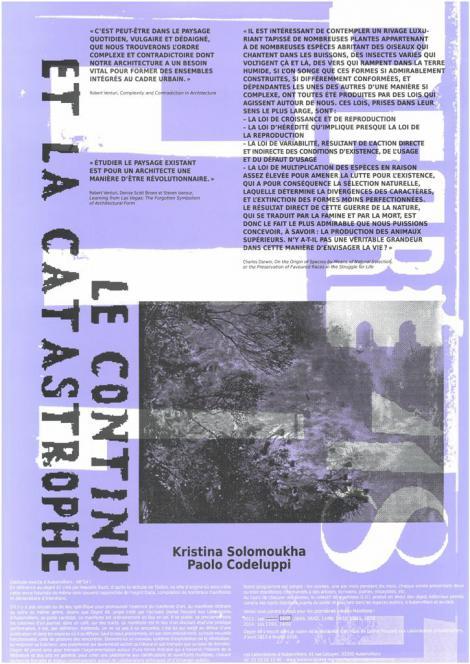 Manifestes imprimés - 3/9  - recto
