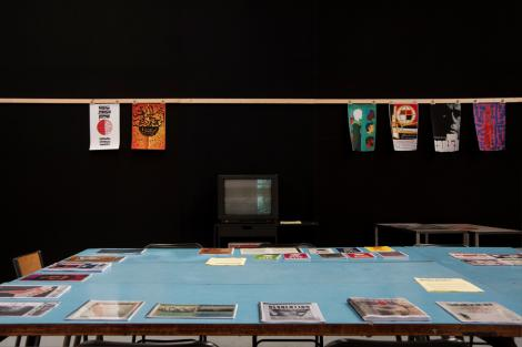 "Research Room ""Action! Painting! Publishing!"", 6-27 juillet 2012, 7/9"
