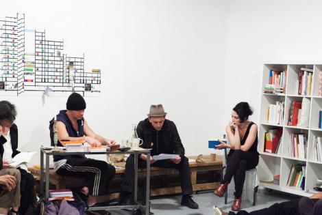 Avec Pascaline Denimal, Renaud Golo et Christian Olivier, 22 septembre 2011 8/10