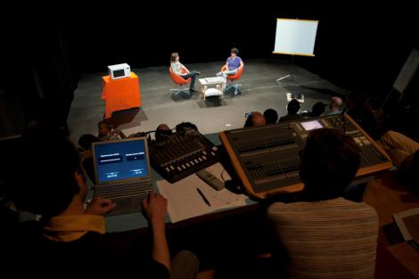 "Focus groups ""Talk Show"", mai 2011, 7/7 ©Ouidade Soussi Chiadmi"