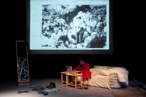 Avec Pascaline Denimal et Tanguy Nédélec le 10 mai 2012, 9/11
