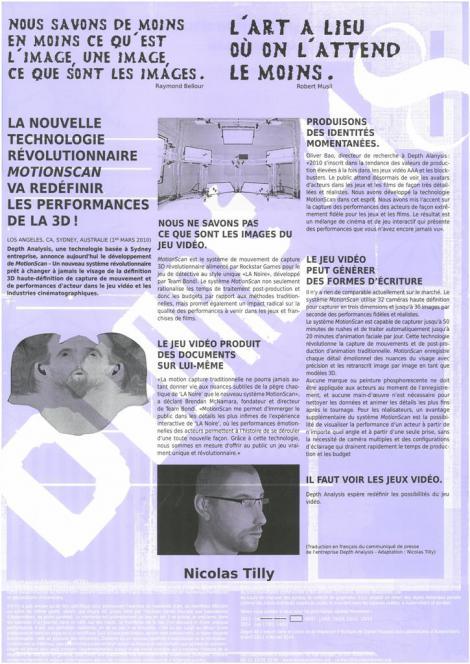 Manifestes imprimés - 5/9  - recto