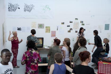 Marjetica Potrc présente l'exposition