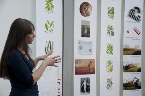 Séverine Roussel présente l'exposition