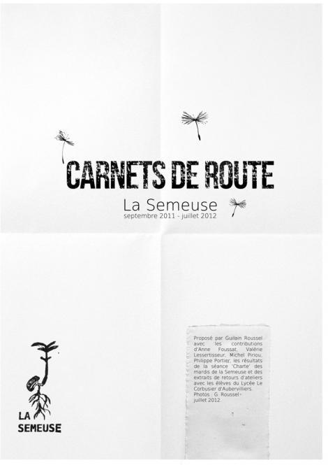 Carnets de route (Guilain Roussel), 1/5